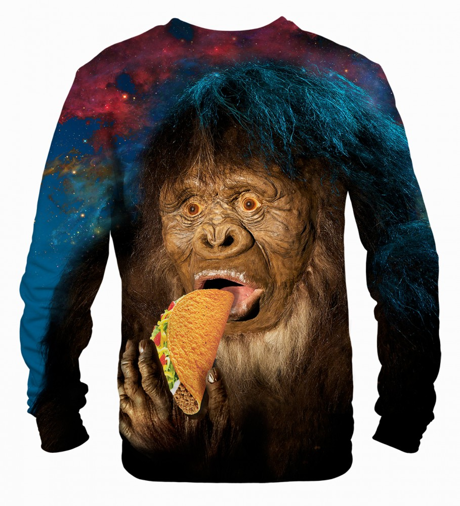 Mr. Gugu & Miss Go, Sasquatch Taco sweater Image $i