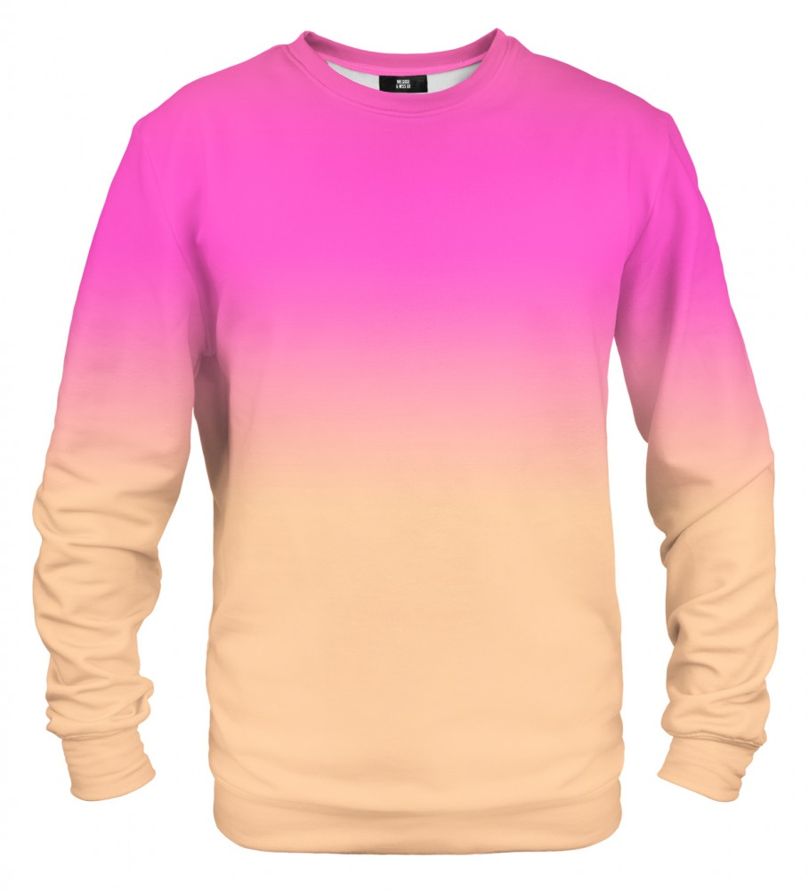Mr. Gugu & Miss Go, Pink & Orange Ombre sweater Фотография $i