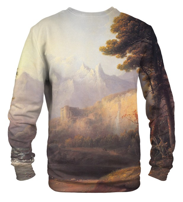 Fanciful Landscape sweater Thumbnail 2
