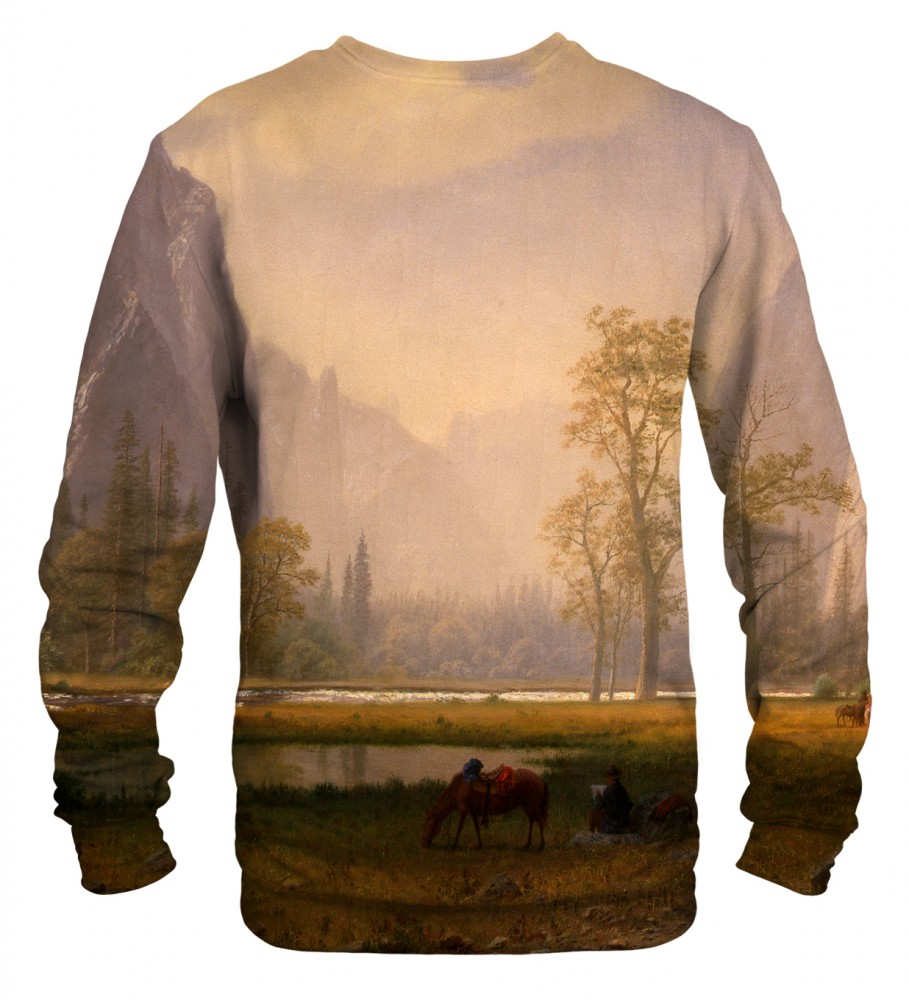 Mr. Gugu & Miss Go, Looking Up the Yosemite Valley sweater Image $i