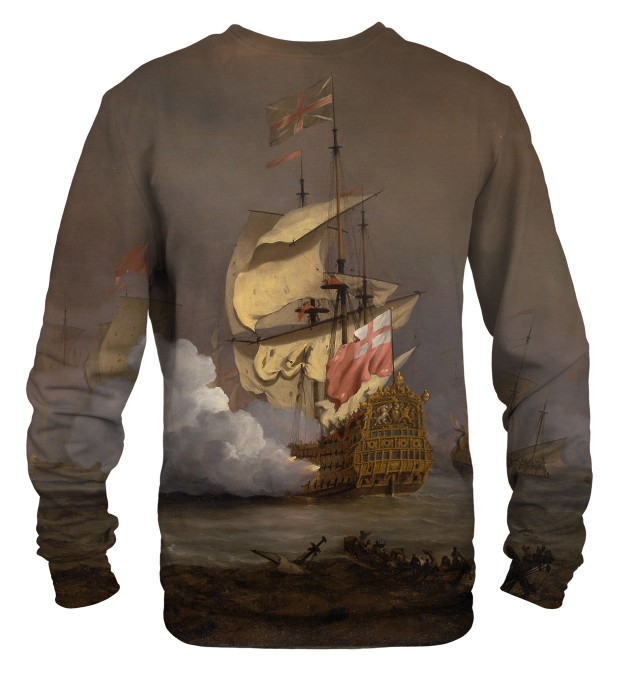 Sea Battle sweater Thumbnail 2