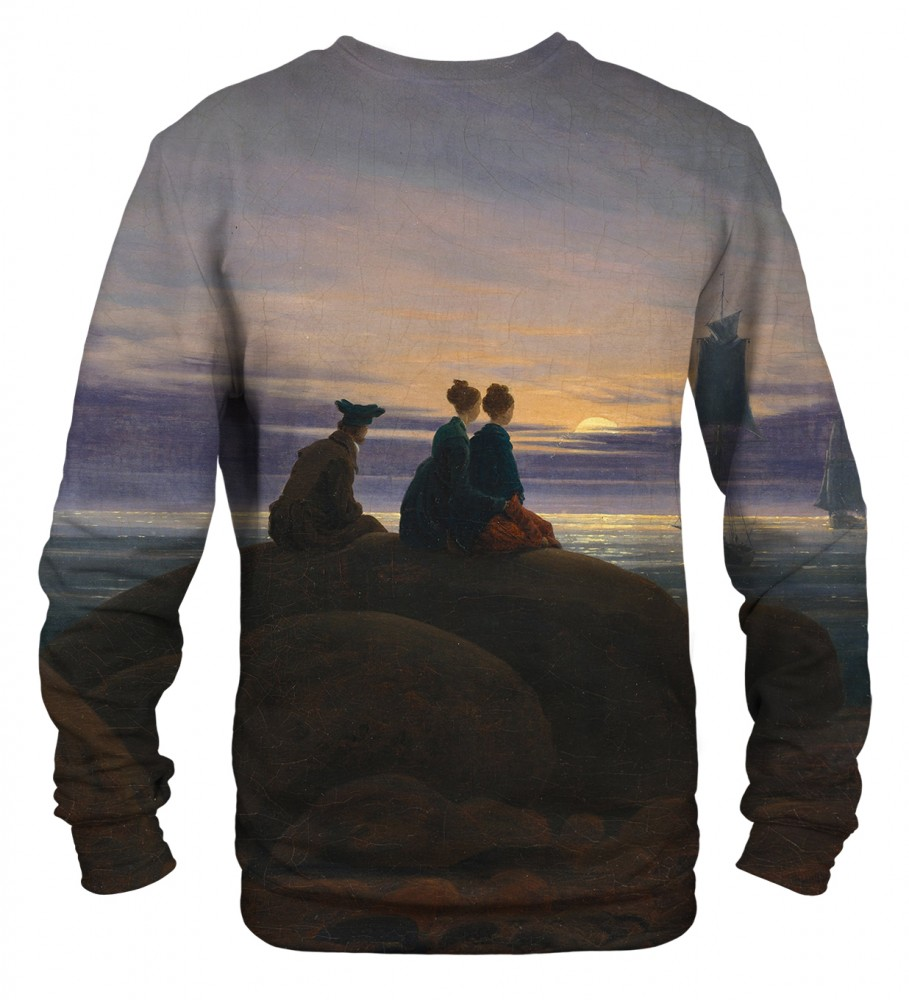 Mr. Gugu & Miss Go, Moonrise Over The Sea sweater Image $i