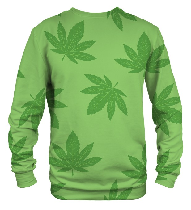 marijuana Leaves sweater Miniature 2