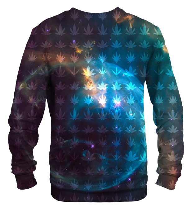 Galaxy Ganja sweater Thumbnail 2