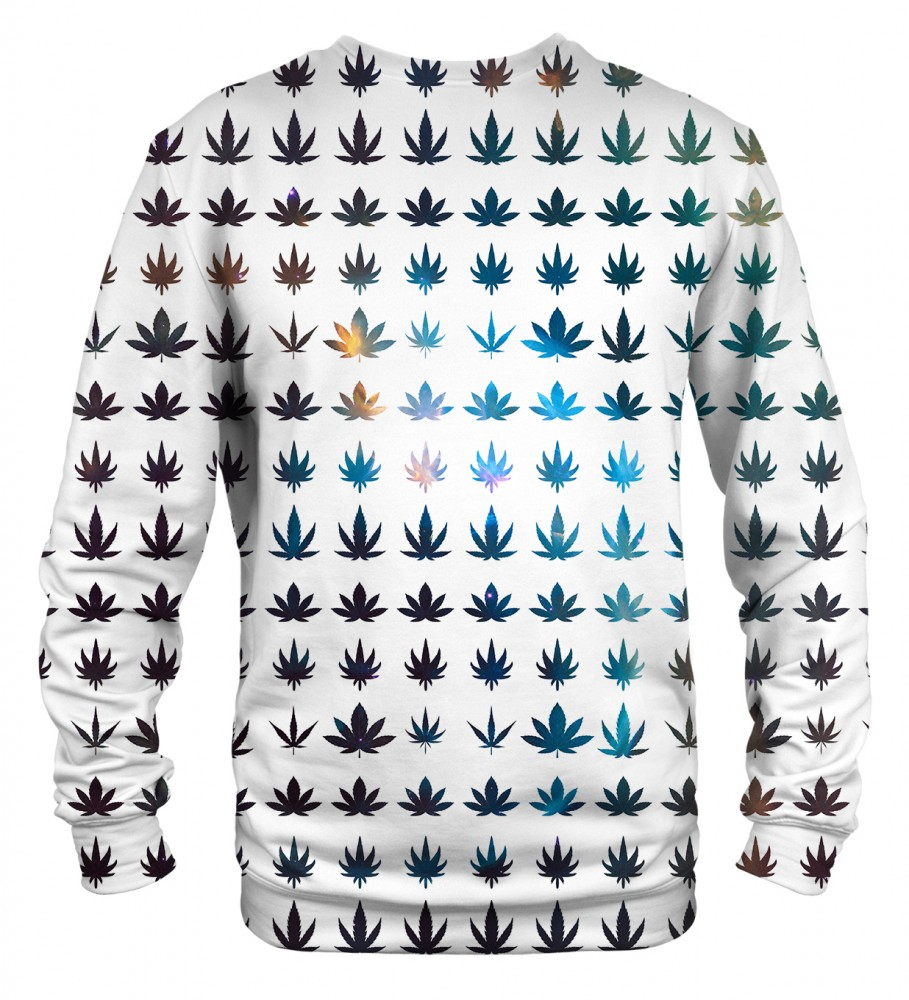 Mr. Gugu & Miss Go, Weed constellation sweater Imagen $i