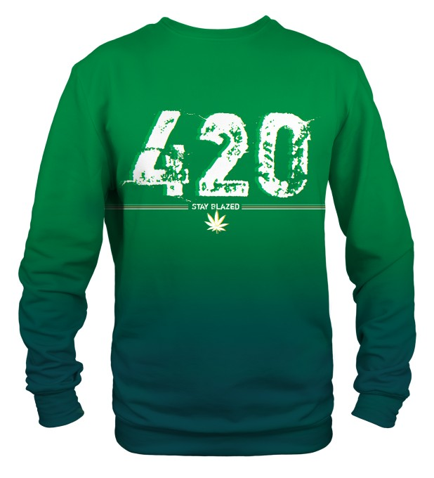 Stay Blazed sweater Thumbnail 2