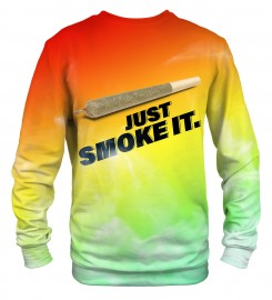 Mr. Gugu & Miss Go, Just Smoke It sweatshirt Miniaturbild $i