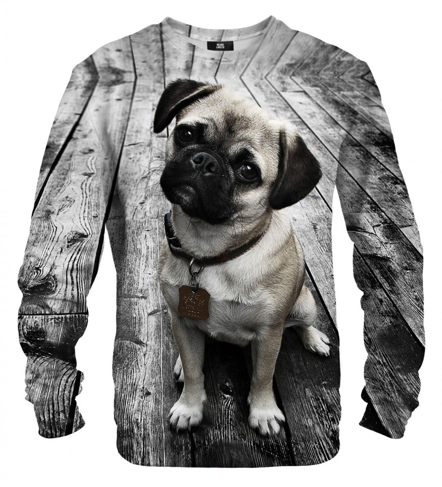 Mr. Gugu & Miss Go, Pug sweater Image $i