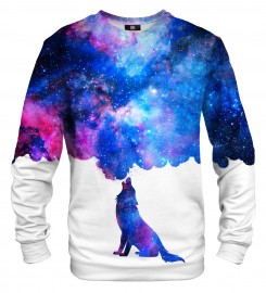 Mr. Gugu & Miss Go, Howling to galaxy sweater Thumbnail $i