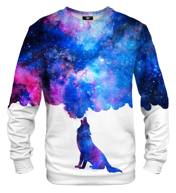 Howling to galaxy sweater Miniatura 1