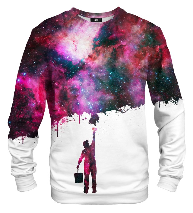 Paint my galaxy sweatshirt Miniaturbild 1