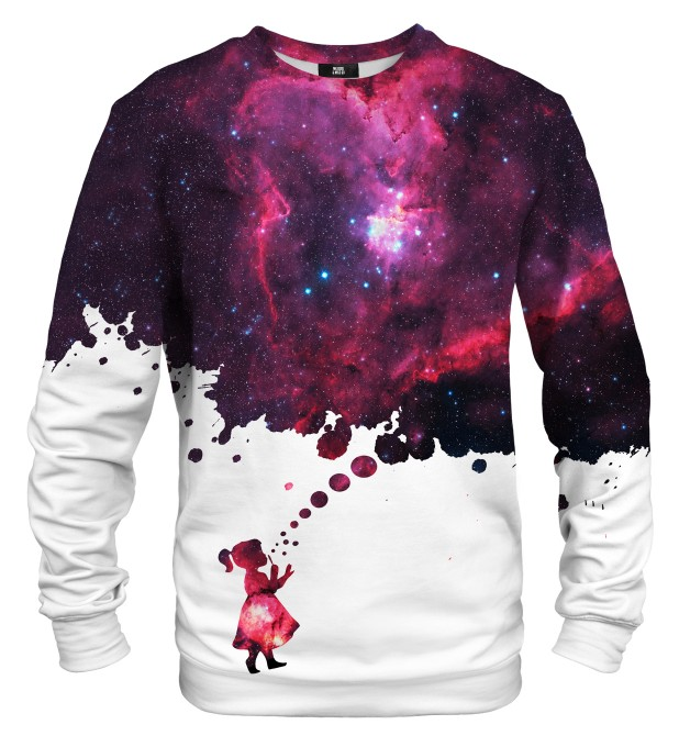 Bubbles to space sweater Miniatura 1