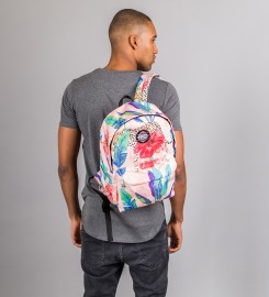 Mr. Gugu & Miss Go, Floral Cheetah backpack Thumbnail $i
