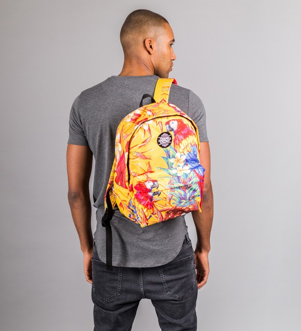 Paradise Parrots backpack Miniature 2