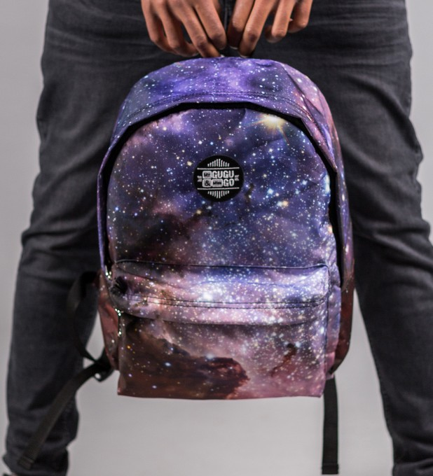 Violet Nebula backpack Miniatura 1