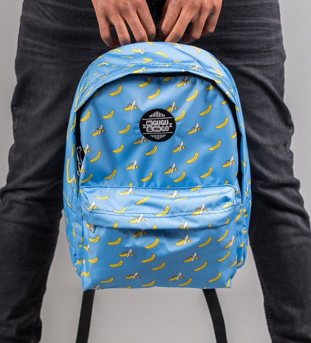 Blue Bananas backpack Miniatura 1