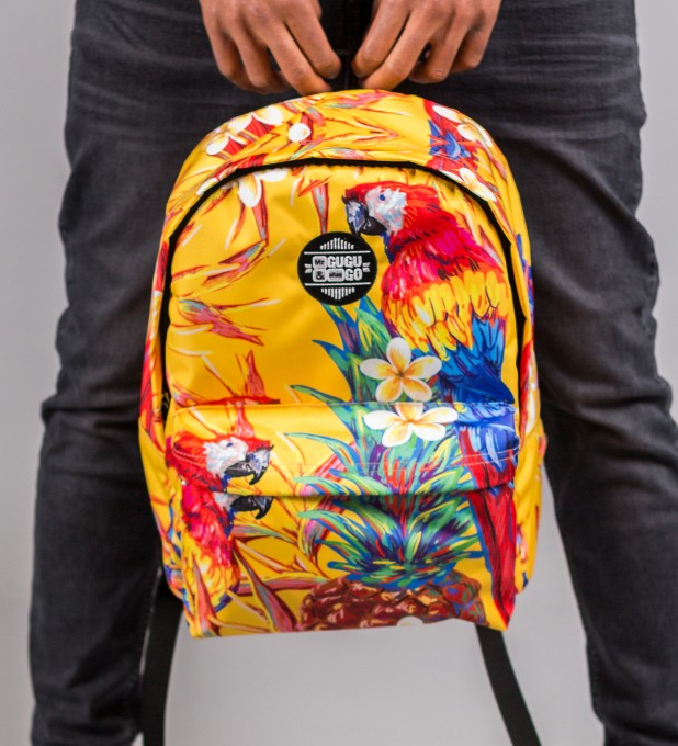 Paradise Parrots backpack Miniature 1