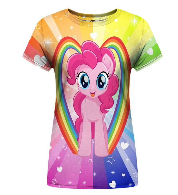 Pinkie Pie Love womens t-shirt аватар 1