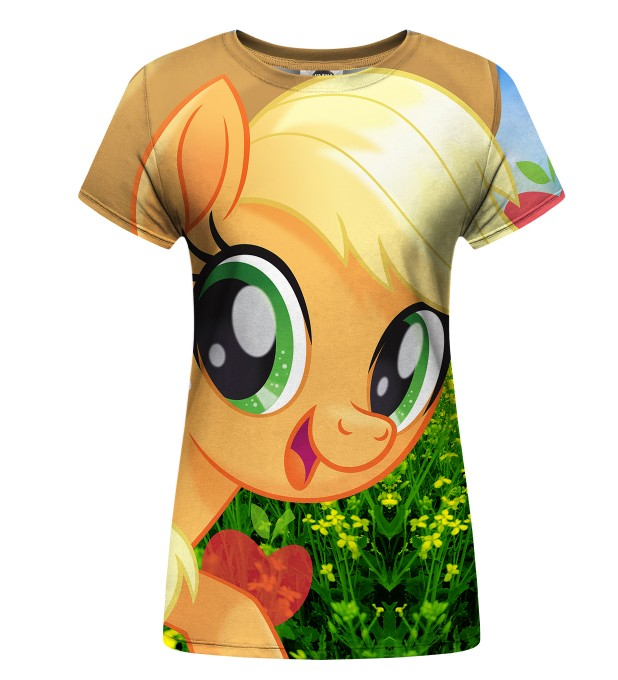 T-shirt damski Applejack World Miniatury 1