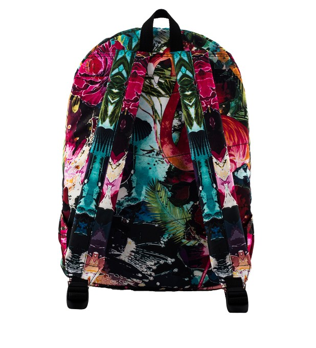 Colorful Flamingo backpack Thumbnail 2