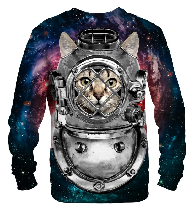 Astronaut cat sweater Thumbnail 2