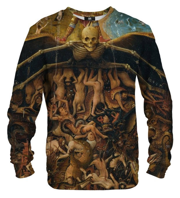 Crucifixion and Last Judgement sweater Thumbnail 1