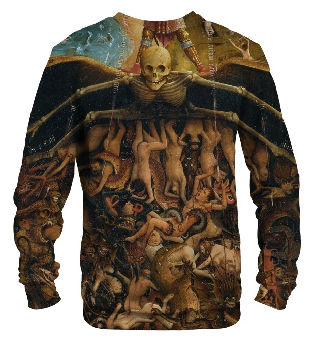 Bluza ze wzorem Crucifixion and Last Judgement Miniatury 2