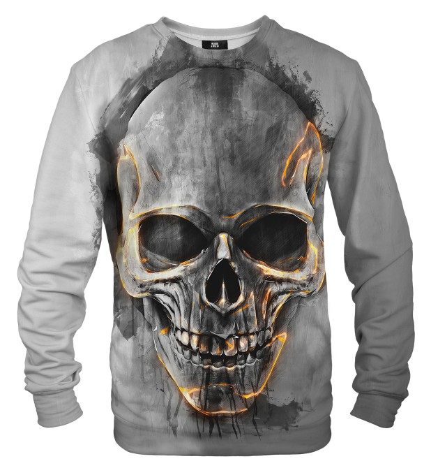 Fire Skull sweater Miniatura 1
