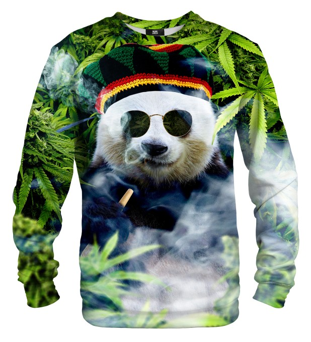 Rastaman Panda sweater Miniature 1