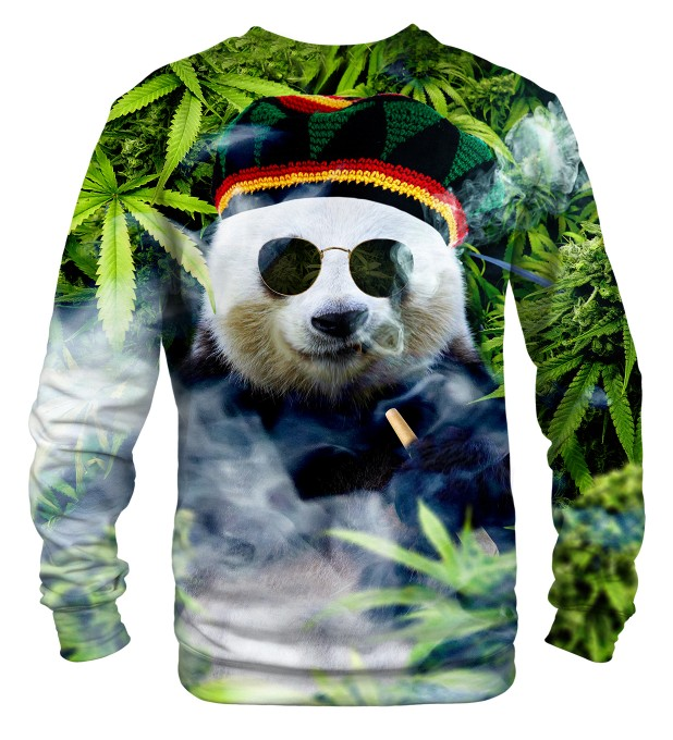Rastaman Panda sweater Miniature 2