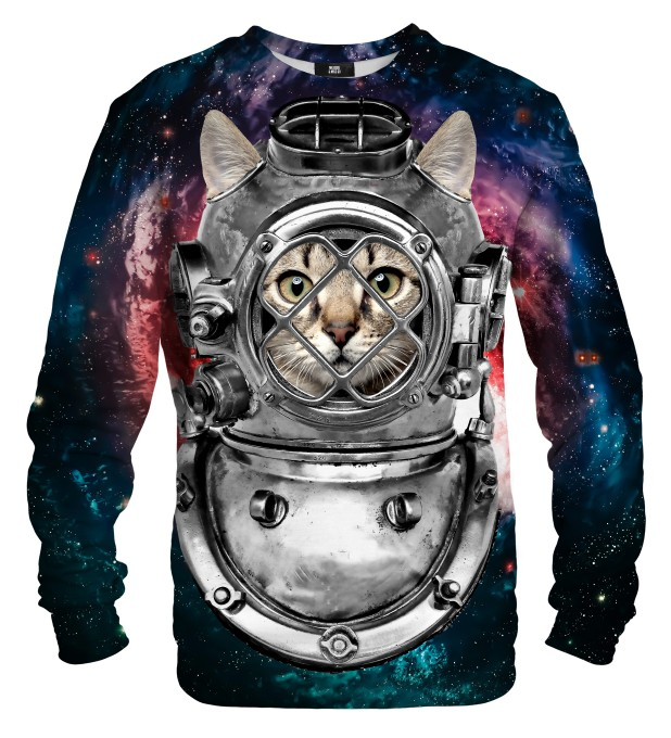 Astronaut cat sweater Miniatura 1