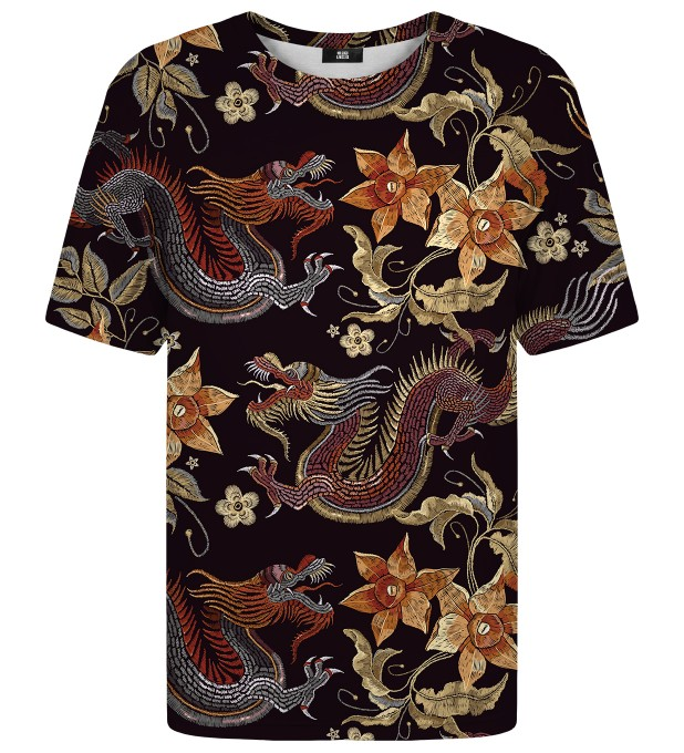 T-shirt Japanese Dragon Miniatury 2