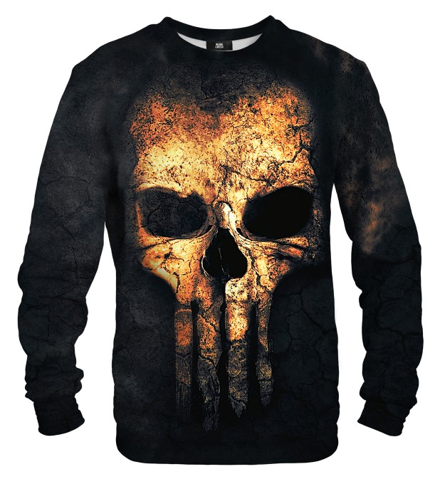 Punisher Face sweater Miniatura 2