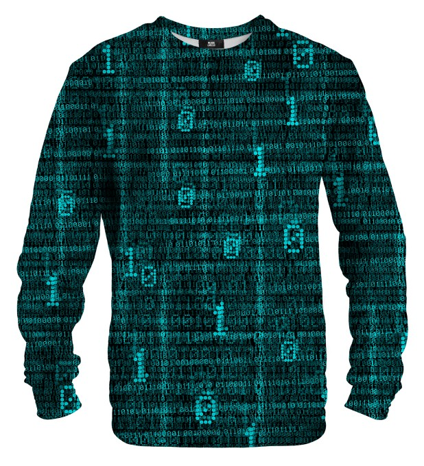 Binary sweater Thumbnail 1