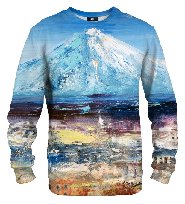 Painting Fuji Mountain sweater Miniatura 1