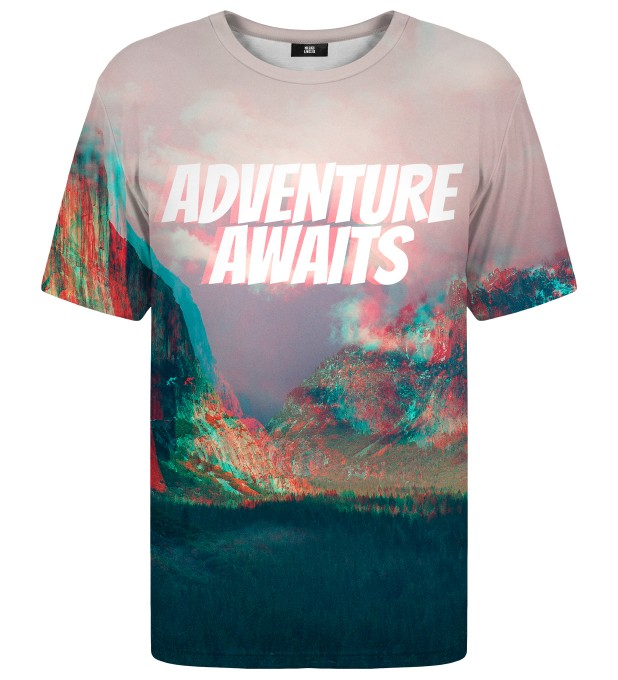 Adventure Awaits t-shirt Miniatura 1