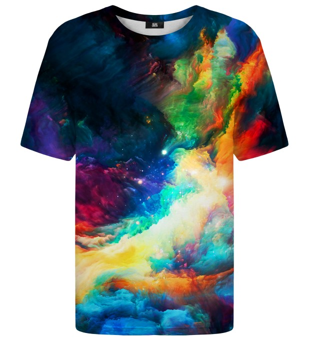 Colorful Space t-shirt Miniatura 1