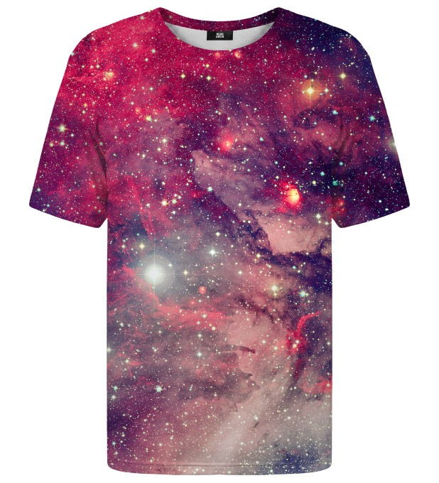 T-shirt Red Galaxy Miniatury 1