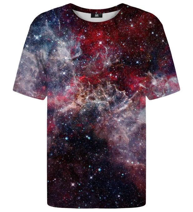 Deep Red Nebula t-shirt Miniatura 1