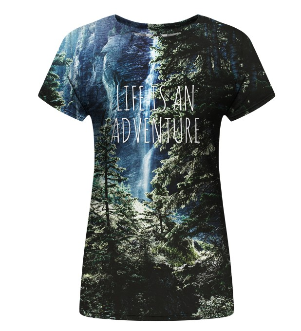 Adventure womens t-shirt Miniatura 1