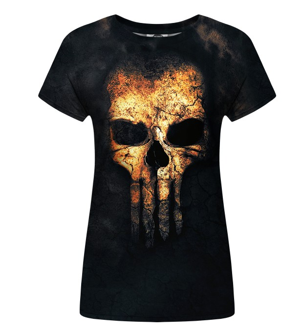 Punisher Face womens t-shirt Miniatura 1