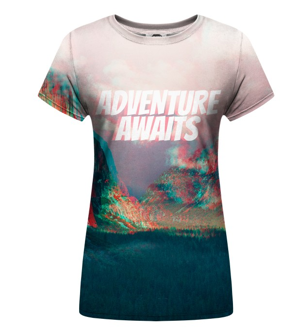Adventure Awaits womens t-shirt Miniatura 1