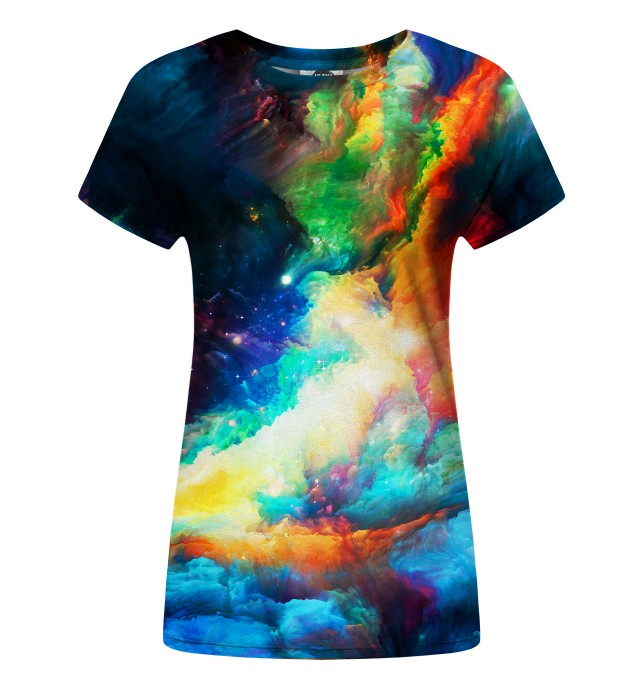 Colorful Space womens t-shirt Miniatura 1