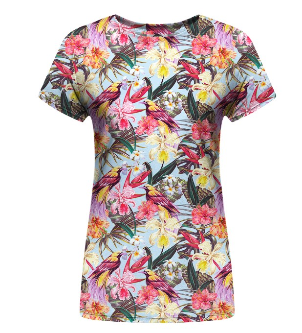 Tropical Beauty womens t-shirt Miniatura 1