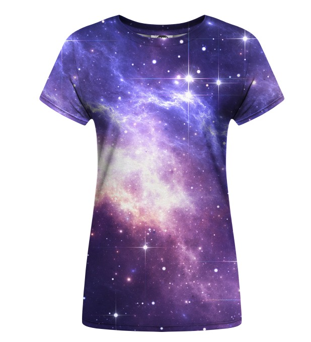 Lightning in Space womens t-shirt Miniatura 1