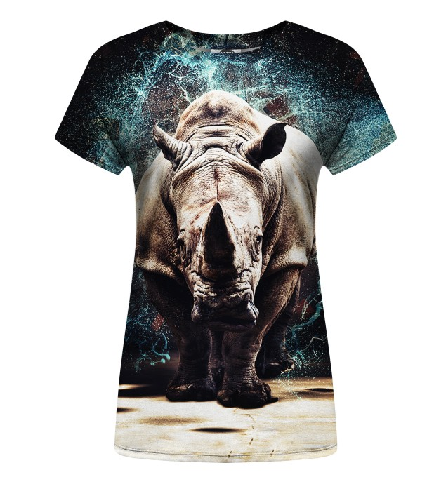 Rhino womens t-shirt Miniature 1