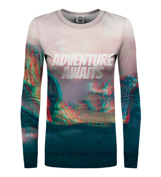 Adventure Awaits womens sweater Miniatura 1