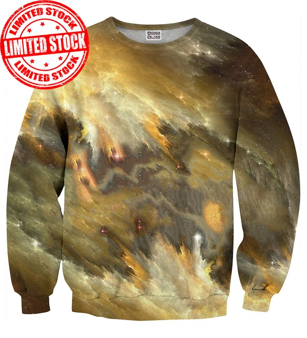 Yellow Nebula sweater Miniatura 1