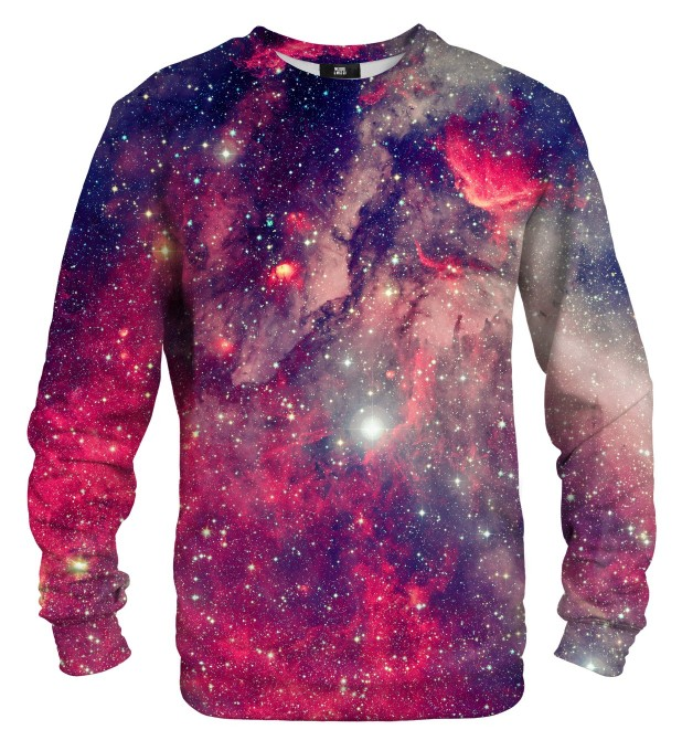 Red Galaxy sweatshirt Miniaturbild 1