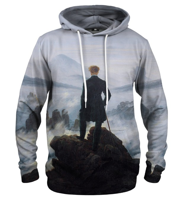 Wanderer above the Sea of Fog hoodie Miniature 1